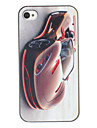 Stylish Perfect Curving Roadster Pattern PC Hard Case for iPhone 4/4S
