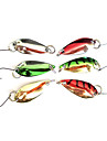 Рыболовный крючок Специально для Weever с красочными Приманка (2,5 г, цвет Ramdon)