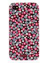Belles fleurs cas dur de modèle pour l'iPhone 4/4S