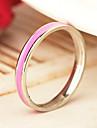 eruner®candy цвет титана стальное кольцо (ассорти цветов&размеры)