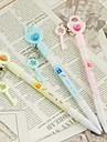 Сердце и ключевые синими чернилами Шариковая ручка (случайный цвет)