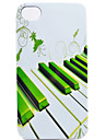 Keys of The Piano Pattern Back Case for iPhone 4/4S
