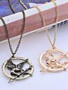 Бижутерия Ожерелья с подвесками Повседневные Сплав Мужчины Золотой Свадебные подарки