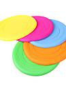 Soft Silica Gel Flying Disc for Dogs(Random Color)
