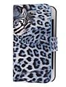 Тигр шаблон PU Саржевый Полный Дело орган для iPhone 4/4S (дополнительных цветов)
