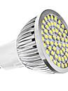 3W GU10 LED Spotlight MR16 60 SMD 3528 240 lm Natural White AC 110-130 / AC 220-240 V