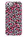 padrão de girassol caso difícil pc colorido com fosco interior para o iphone 5/5s