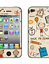 """""""Back to School"""" Motif autocollant de corps pour l'iPhone 4/4S"""