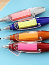 caneta auto-stick nota lanterna esferográfica (cor aleatória)
