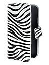Для Кейс для  Samsung Galaxy Кошелек / Бумажник для карт / со стендом / Флип / С узором / Магнитный Кейс для Чехол Кейс дляПолосы /