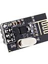 повышен 2,4 ГГц NRF24L01 беспроводной приемопередатчик модуль для (для Arduino) - черный