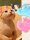 Kat Hund Soignerings Børster Kæledyr Plejemidler Blå Lys pink