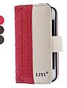 Бизнес-стиль PU Полный Дело Корпус с карты памяти, ремень и ТПУ обложка для iPhone 4/4S (дополнительных цветов)
