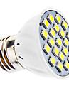 3W E14 / E26/E27 Точечное LED освещение MR16 21 SMD 5050 240 lm Тёплый белый / Холодный белый AC 220-240 / AC 110-130 V