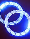 Регулируемый разноцветный светодиодный браслет для вечеринки (случайный узор)