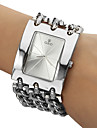 Mulheres Relógio de Moda Bracele Relógio Quartzo Aço Inoxidável Banda Prata marca