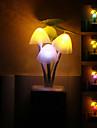 Лампа в форме грибов, светодиодная, цветная