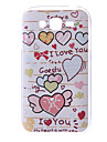 Heart Pattern Hard Case for Samsung Galaxy Grand DUOS I9082