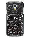 boîtier en aluminium dur de modèle de la formule pour Samsung Galaxy S4 mini-I9190