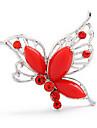 Broche papillon de forme (couleur aléatoire)