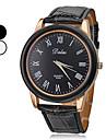 Unisex PU Band Analog Quartz Wrist Watch (Assorted Colors) Cool Watch Unique Watch