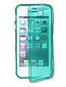 proteção TPU caso macio para o iphone 5/5s (cores sortidas)