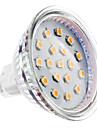 4W GU5.3(MR16) Точечное LED освещение MR16 15 SMD 2835 300 lm Тёплый белый DC 12 V