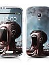 Monstro Árvore padrão frente e verso Protector Adesivos para Samsung Galaxy S3 mini-I8190