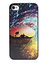 Boiling Tide Pattern Back Case for iPhone 4/4S
