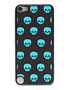 Skulls cintilantes em Linha Padrão PC Hard Case para iPod touch 5