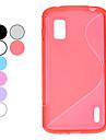 С картины TPU мягкий защитный чехол для Google Nexus 4 LG E960 (дополнительных цветов)