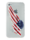 American Flag Printing Soft Shell for iPhone 5/5S