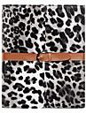 Moda leopardo Capa de Couro com suporte para iPad e Belt 2/3/4 (opcional Cores)