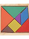 Детский 7pcs Красочные совета Tangram IQ головоломки Образование игрушки набора