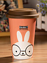мультфильм кролик кружка с гибким клей Обложка чашки