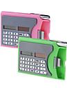 3-в-1 Многоцелевой Имя держателя карты Case + Solar Power 8-разрядный калькулятор + металлик Шариковая - цвет ассорти
