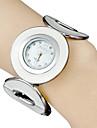 아가씨들 패션 시계 손목 시계 팔찌 시계 스포츠 시계 석영 밴드 우아한 화이트