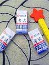 Прямоугольник Экзамен Eraser Set (2шт)