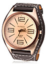 Men's Watch Dress Watch Big Tawny Dial Cool Watch Unique Watch