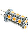 3W G4 / GU4(MR11) LED лампы типа Корн T 18 SMD 5050 180-220 lm Тёплый белый / Холодный белый AC 12 V