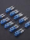 G9 40W Покрытие голубой галогенная лампа (10шт)