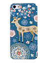 Sika Deer Pattern Plastic Hard Case Cover for iPhone 5/5S