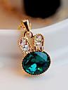 Femme Pendentif de collier Cristal Imitation de diamant Alliage Mode Le style mignon Bijoux de Luxe Bijoux Pour Soirée 1pc