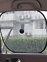 carro-sol janela (2 peças, preto)