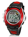 Мужская ЖК-цифровой многофункциональный набор Rubber Band наручные часы (разных цветов)