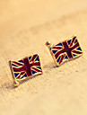 Retro Small Earrings M Word British Flag Earrings Earrings E130