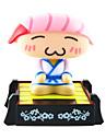 Solaire Sushi Chef principal de secousse actionné Toy Rose Sushi Chef