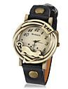 Women's Vintage Leopard Frame PU Band Quartz Analog Wrist Watch (Assorted Colors) Cool Watches Unique Watches