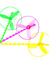 헬리콥터 비행 우산 제트 장치 잠자리 (색상 랜덤)