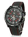 Masculino Relógio Esportivo Quartzo Banda Preta marca